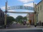 River Street arch
