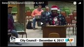 December 4 Batavia City Council Meeting