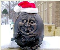 Humpty Santa