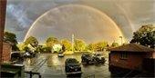 Rainbow over Batavia