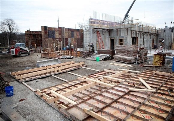 Batavia wastewater treatment plant construction