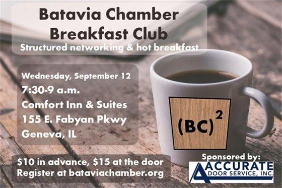 Batavia chamber breakfast club image