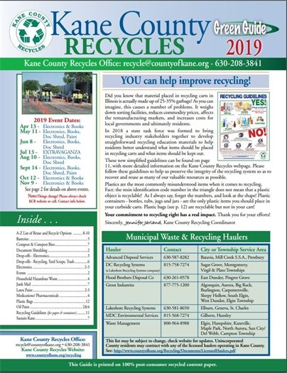 Kane County Recycles Guide