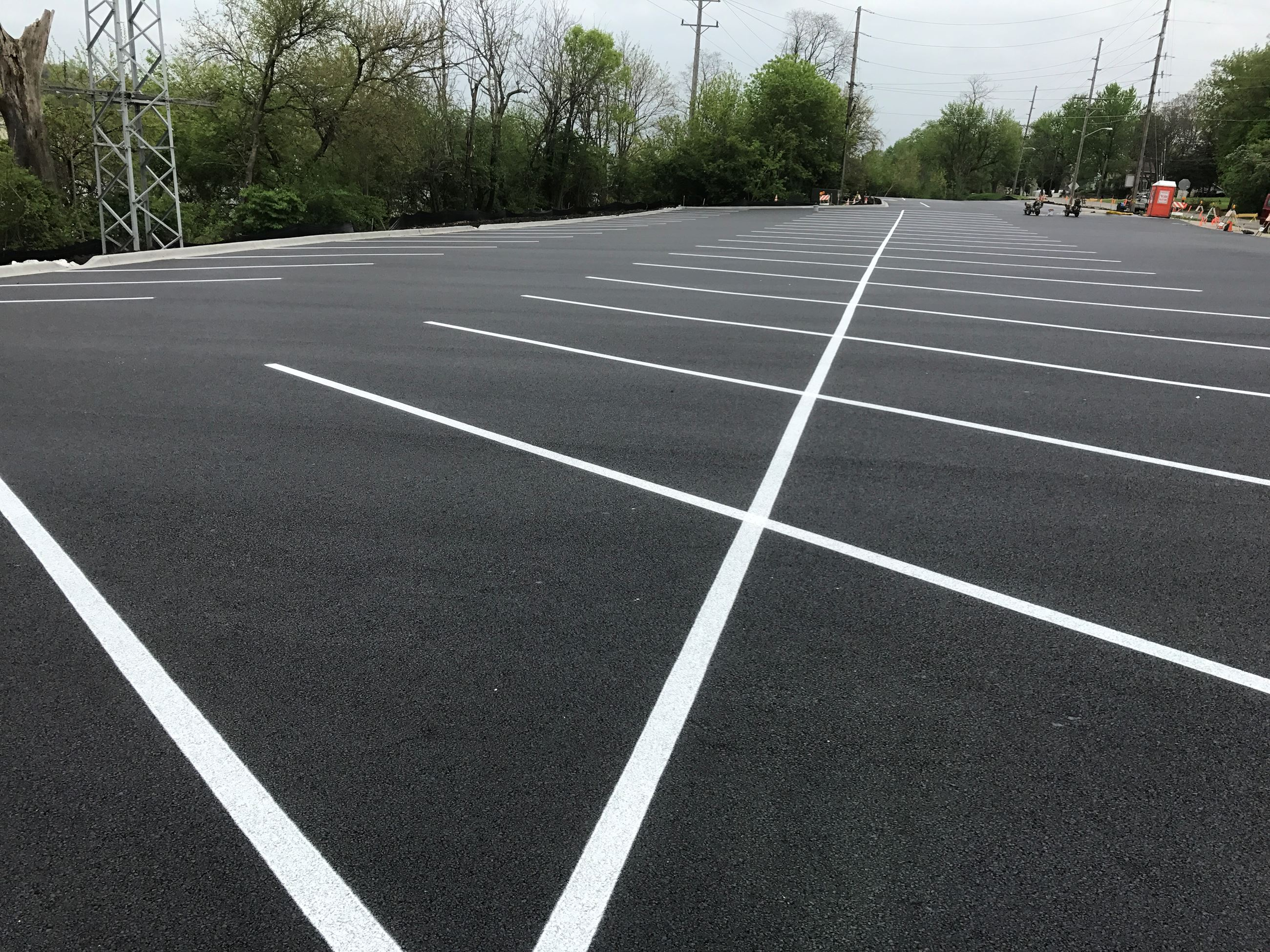 New Parking Lot in Batavia