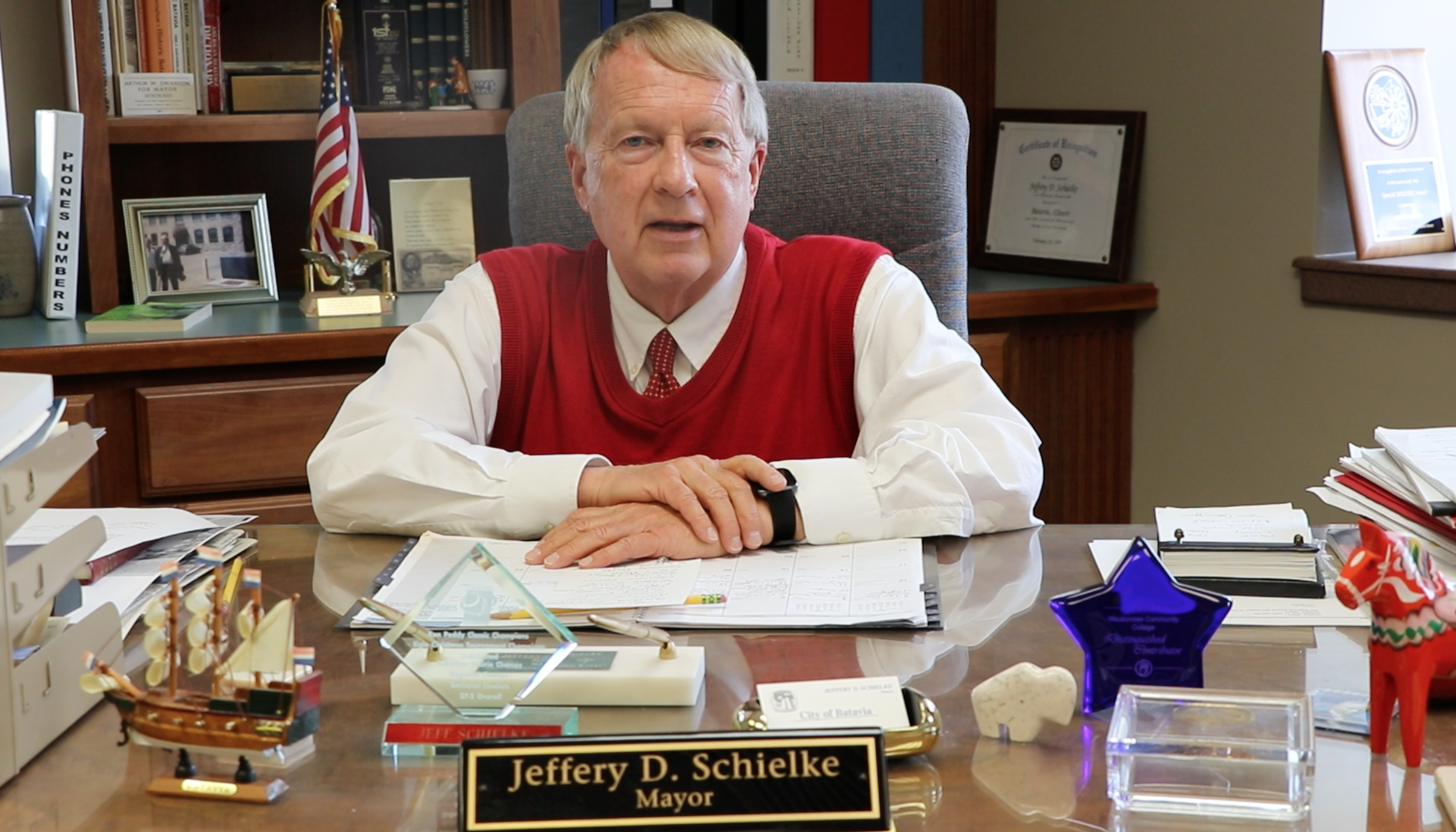 Photo of Mayor Schielke