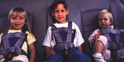 Kids in Seat Restraints