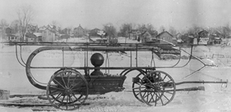 1875 First Fire Engine