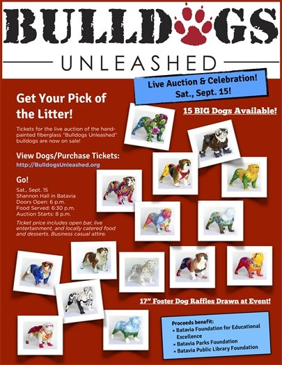 Bulldogs Unleashed auction
