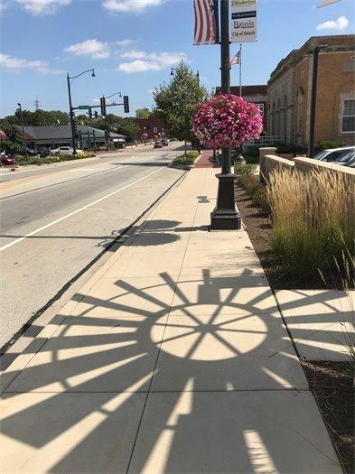 Batavia windmill shadow