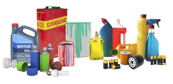 Household hazardous waste materials