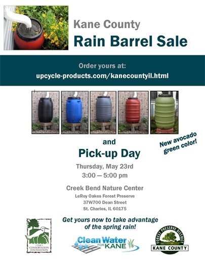 Kane County Rain Barrel Sale
