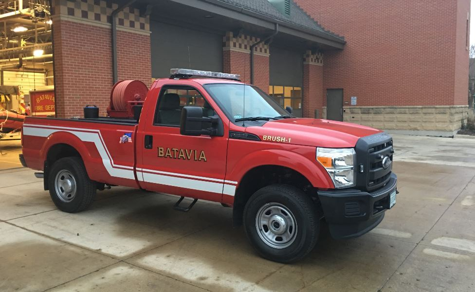 New Brush Truck