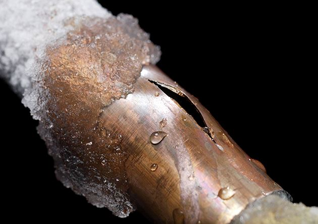 Frozen Pipes News Item