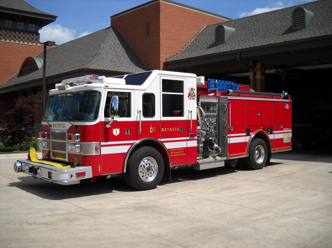 Fire Department Pumper Truck Engine 3