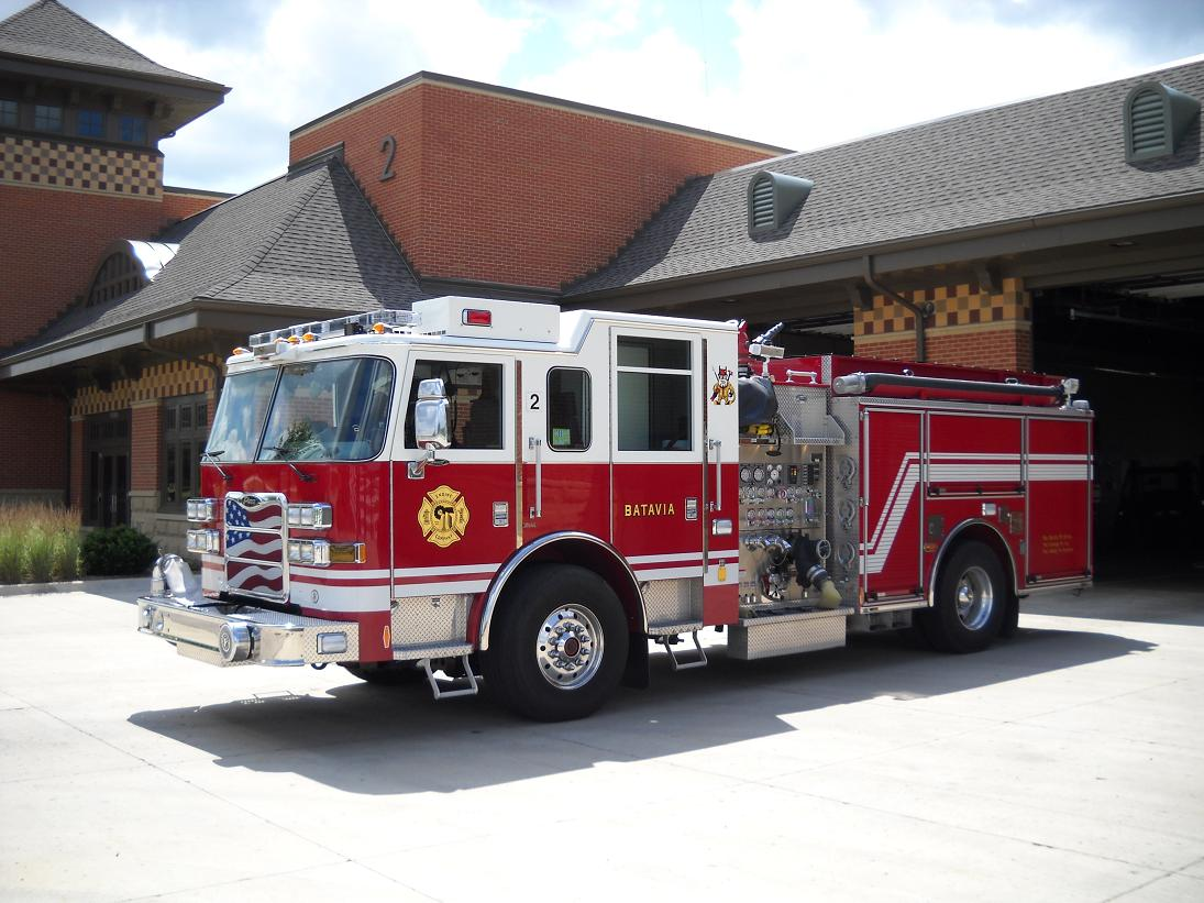 Fire Department Pumper Truck Engine 2