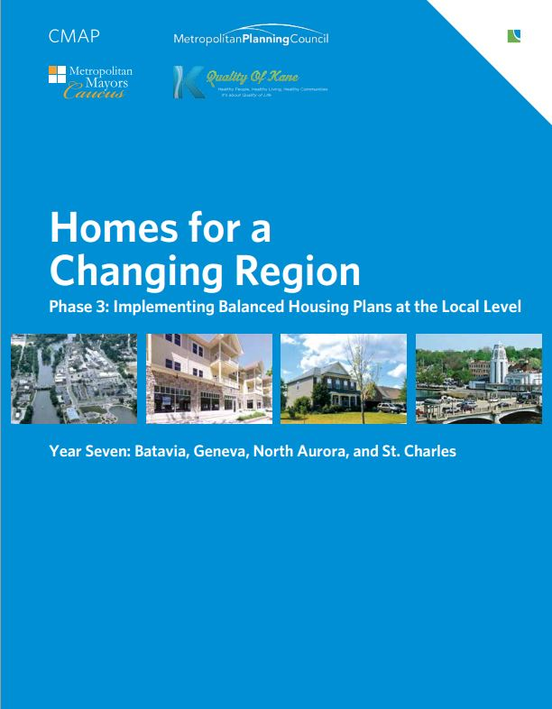 Homes for a Changing Region